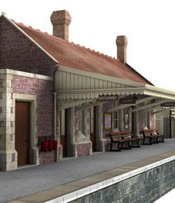 Dunster station
