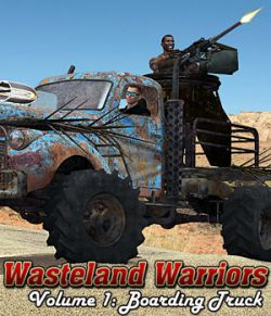 Wasteland Warriors- Boarding Truck