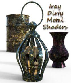 Iray Dirty Metal Shaders