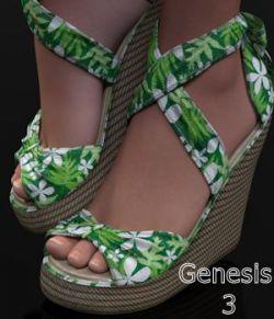 TiedUp Wedgies for Genesis 3 Females