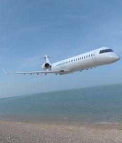 Bombardier CRJ-705 (3ds/ obj/ lwo)