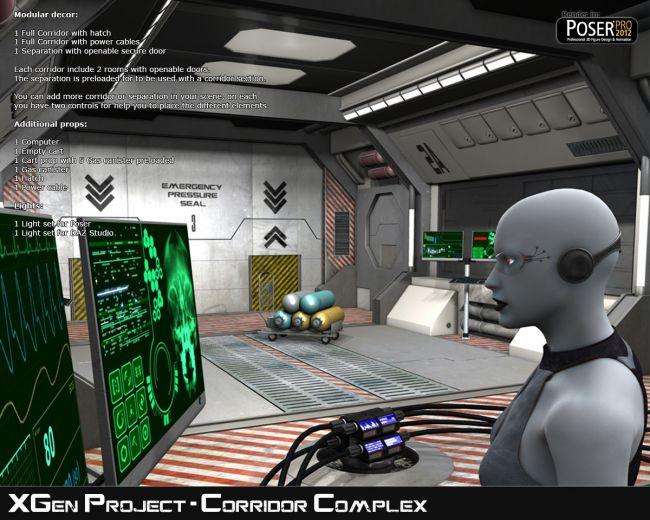 XGen Project, Corridor Complex