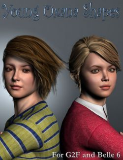 Young Oxana Shapes for Genesis 2 Female(s) and Belle 6