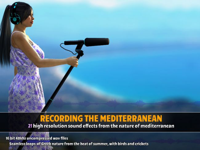 Recording the Mediterranean