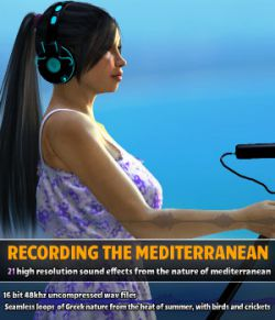 Recording the Mediterranean