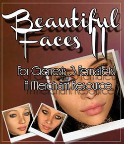 Beautiful Faces II For G3F - Merchant Resource