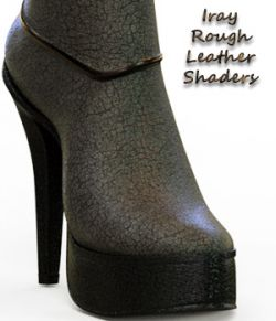 Iray Rough Leather Shaders