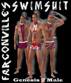 Swimsuit for Genesis 2