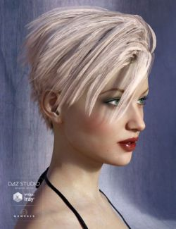 Chace Hair for Genesis 3 Female(s) and Genesis 2 Female(s)
