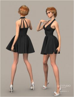 W Skirt for Genesis 3 Female(s)