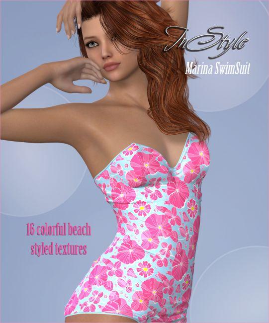 InStyle - Marina's G2F 50s SwimSuit
