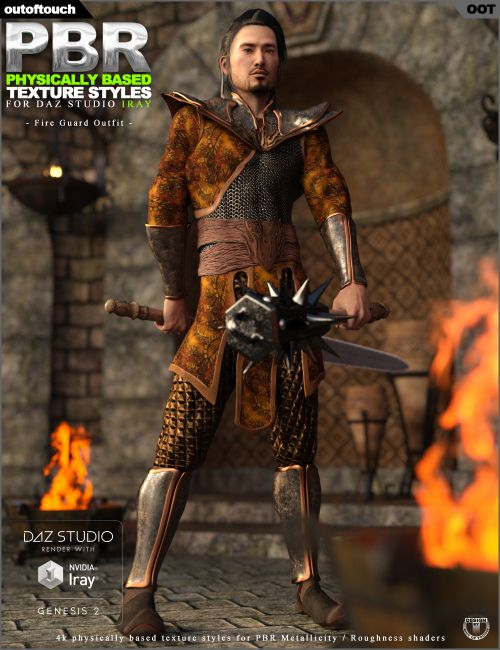 OOT PBR Texture Styles for Fire Guard Outfit