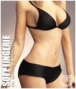 Soft Lingerie for Genesis 3 Female(s)