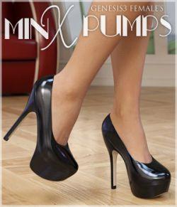 Minx Pumps for Genesis 3 Females