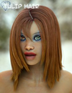 Tulip Hair for Genesis 3 Female(s)
