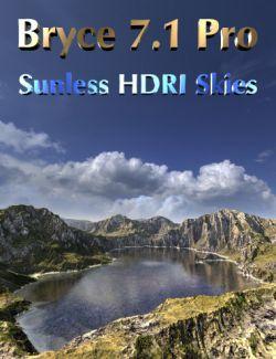 Bryce 7.1 Pro Sunless HDRI Skies
