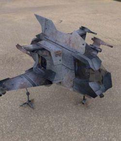 Hawk MACH Shuttle (for Poser)