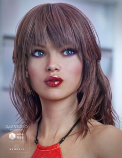 Paisley Hair for Genesis 3 Female(s)