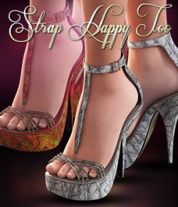 NYC Collection: Strap Happy Too Genesis 3 Female(S)