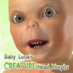 Baby Luna's Creature Heads