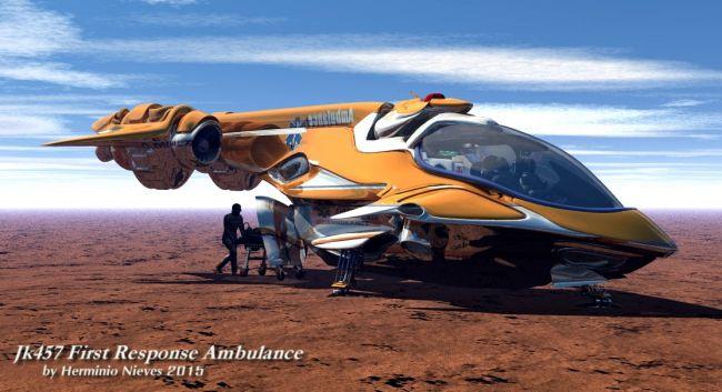 JK457 First Response Ambulance