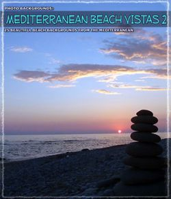 Photo Backgrounds: Mediterranean Beach Vistas 2