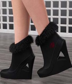 Just A Kiss Boots for Genesis 2 Female(s)