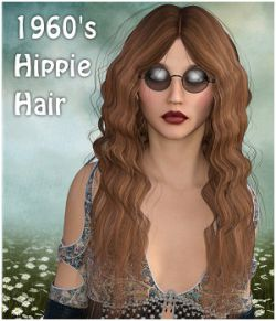1960's Hippie Hair