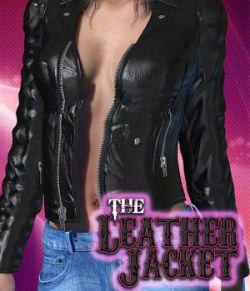 Exnem Leather Jacket for V4