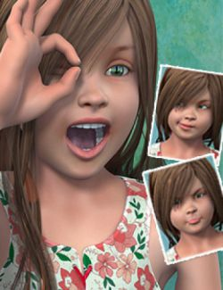 Adorbs Expressions for Skyler and Genesis 2 Female(s)