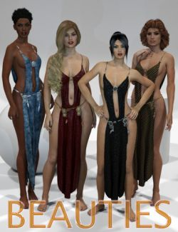 Genesis 2 Legacies for Genesis 3 Female: Beauties
