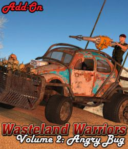 Wasteland Warriors- Angry Bug- ADD-ON
