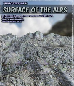 Photo Textures: Surface of the Alps
