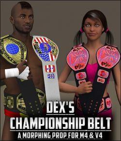 Dex's Championship Belt 3.0