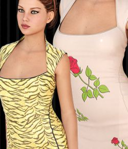 InStyle- Slay Dress for Genesis 3 Female(s)