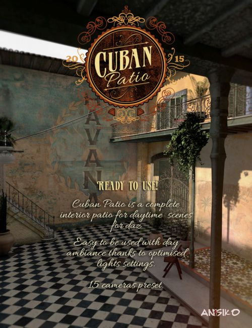 Cuban Patio