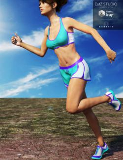Running Outfit for Genesis 3 Female(s)