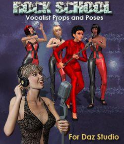 Rock School Vocalists for DAZ