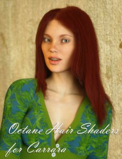 Octane Hair Shaders for Carrara