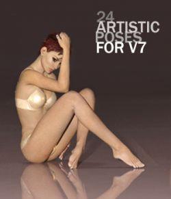 Artistic Poses for V7
