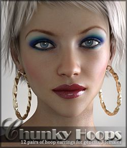 SV's Chunky Hoop Earrings G3F
