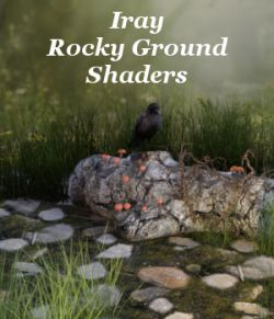 Iray Rocky Ground Shaders