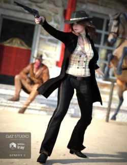 Cowgirl for Genesis 2 Female(s)