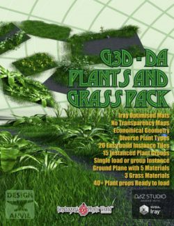 G3D-DA Grass and Plant Pack