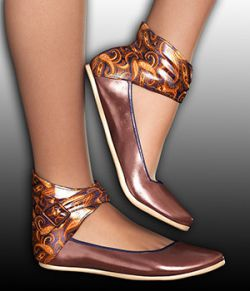 COSMOPOLITAN - Sierra Ankle Strap Shoes (G2 & V4)