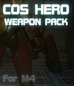 CosHero Weapon Pack for M4