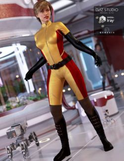Eclipse Outfit for Genesis 3 Female(s)