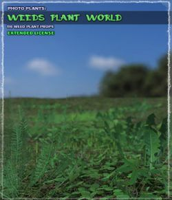 Photo Plants: Weeds Plant World- Extended License