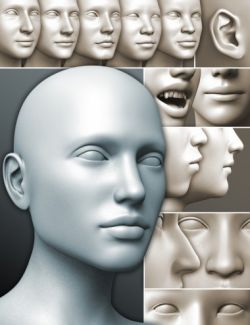 200 Plus- Head & Face Morphs for Genesis 3 Female(s)