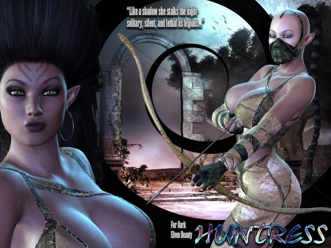Dark Elven Huntress